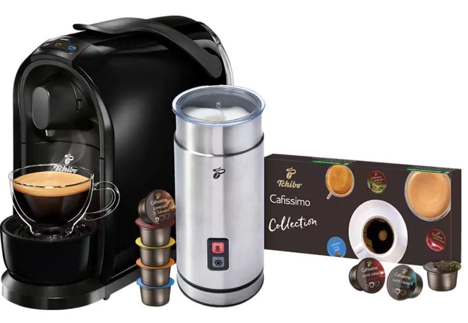 TCHIBO Cafissimo Pure + externer Milchaufschäumer ab 49€ (statt 69€)