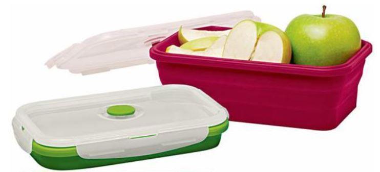 10er Set Silikon Frischhaltedosen BPA frei für 17,95€ (statt 30€)