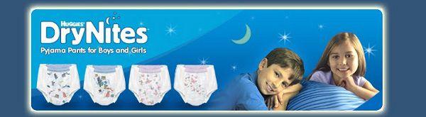 Gratismuster von DryNites Pyjama Höschen anfordern