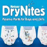 Gratismuster von DryNites Pyjama-Höschen anfordern