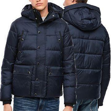 s.Oliver Q/S Puffer Jacket mit Kapuze in 3 Farben ab 51,98€ (statt 102€)