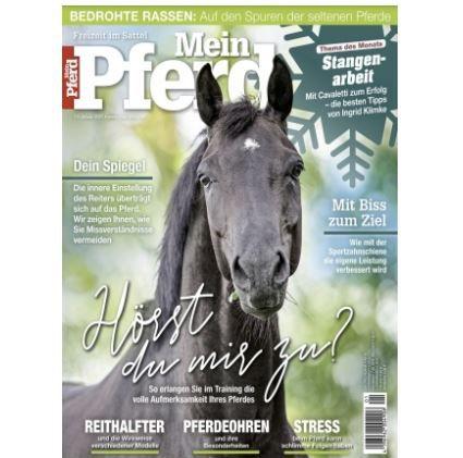 Mein Pferd Jahresabo (12 Ausgaben) für 64,80€ – Prämie: 50€ V-Scheck