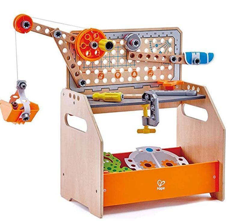"""Hape Tüftler Kinder Spielzeug """"Arbeitstisch"""" für 39,98€ (statt 57€)"""
