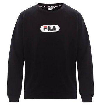 """Fila Sweatshirt """"Baha Raglan Crew"""" in Schwarz für 23,70€ (statt 39€)"""