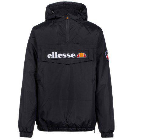 Ellesse Monterini Windbreaker in Schwarz für 59,31€ (statt 73€)   S, M & L