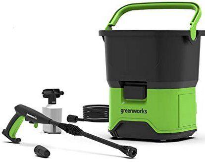 Greenworks Akku Hochdruckreiniger GDC40 (70 bar) für 43,90€ (statt 60€)