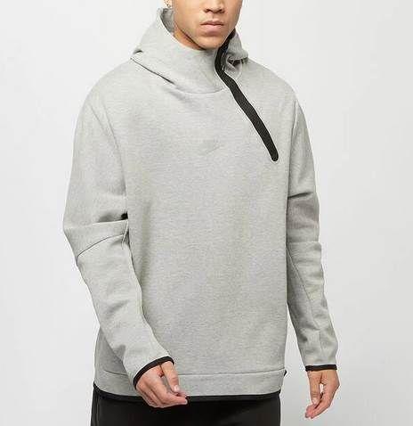 Nike Sweatshirt Nsw Tch Flc Hoodie Po Reflv in Grau für 63,20€ (statt 120€)