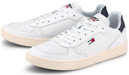 Tommy Jeans Herren Leder Sneaker Essential Cupsole für 46,71€ (statt 62€)