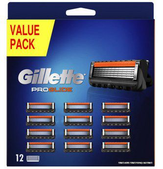 12er Pack Gillette Fusion 5 ProGlide Rasierklingen für 30,90€ (statt 36€)