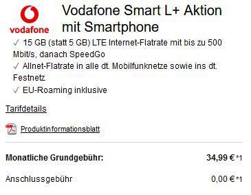 Apple iPhone 12 64GB für 75€ + Vodafone Allnet Flat mit 15GB LTE für 34,99€ mtl.