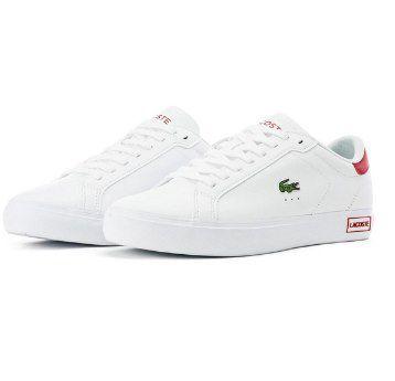 """Lacoste Sneaker """"Powercourt 0520 1 SMA"""" in Weiß für 55,30€ (statt 100€)"""