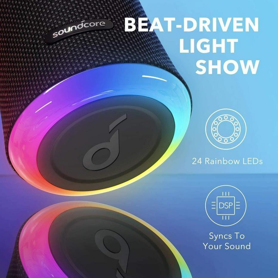 Anker Soundcore Flare 2 Bluetooth Lautsprecher mit IPX7 und 12 Stunden Akku für 53,99€ (statt 70€)