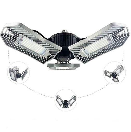 60W LED-Arbeitslampe mit  3 Strahlern für 11,99€ – Prime