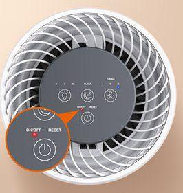 TaoTronics Air Purifier TT AP001 mit 3 in 1 HEPA Filter und 4 Lüfterstufen für 55,99€ (statt 70€)