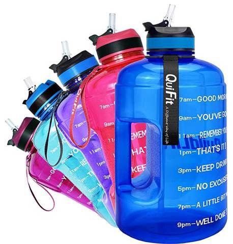 Bis zu 60% auf QuiFit 2,2 & 3,78L Trinkflaschen in vielen Farben z.B. 3,78L für 3,99€ (statt 10€) – Prime