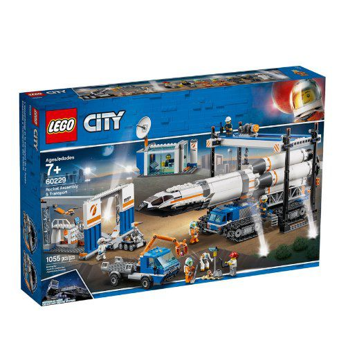 LEGO City – 60229 Raketenmontage & Transport + Geschenk für 129,99€ (statt 150€)
