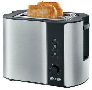 Severin AT 2589 Toaster mit Brötchenaufsatz für 23,12€ (statt 28€)