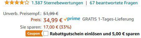 TowerTop 12V Auto Luftpumpe für 12,49€ (statt 35€)