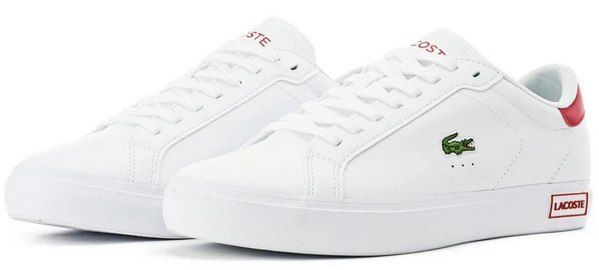 Lacoste Sneaker Powercourt 0520 1 SMA in Weiß für 55,30€ (statt 100€)