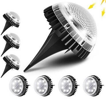 8er Pack LED Solarleuchten in Warm- oder Kaltweiß für je 16,80€ (statt 40€)