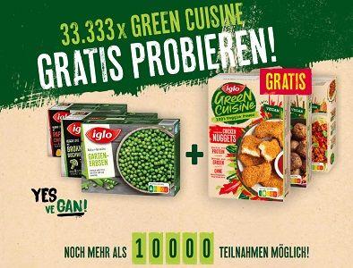Iglo: Green Cuisine kostenlos ausprobieren