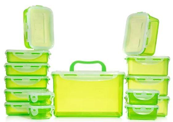 LocknLock 15 Frischhaltedosen Luft  & Aroma dicht 100ml 4,5l ab 19,98€ (statt 30€)
