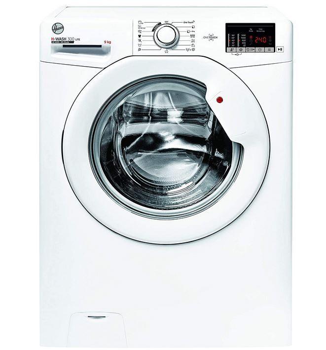 Hoover H3W492DE-S Waschmaschine mit 9kg und 1.400 U/min. für 299,90€ (statt 349€)
