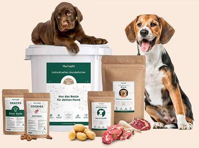 Kostenloses Hundefutter Testpaket von Hurrado erhalten   nur 4,90€ VSK