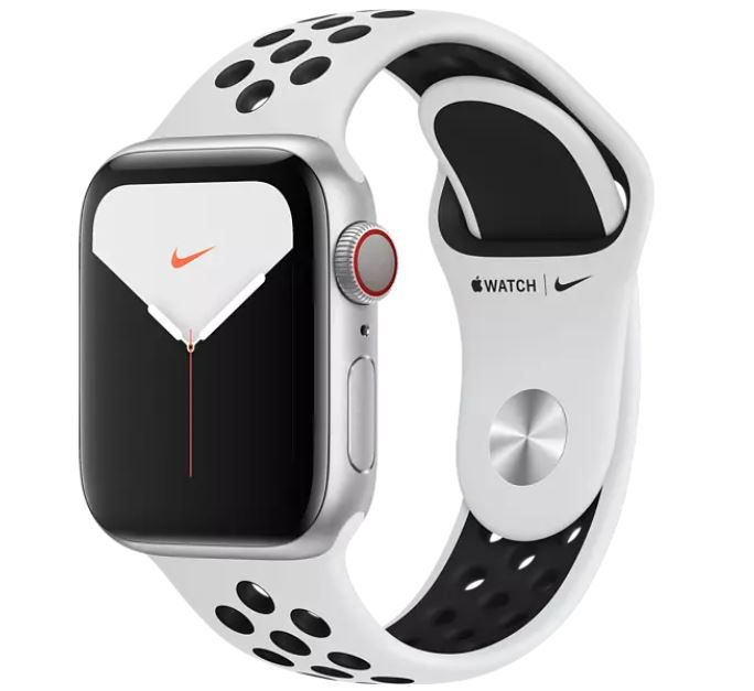 Apple Watch Nike Series 5 44mm (GPS + LTE) für 389€ (statt 433€)