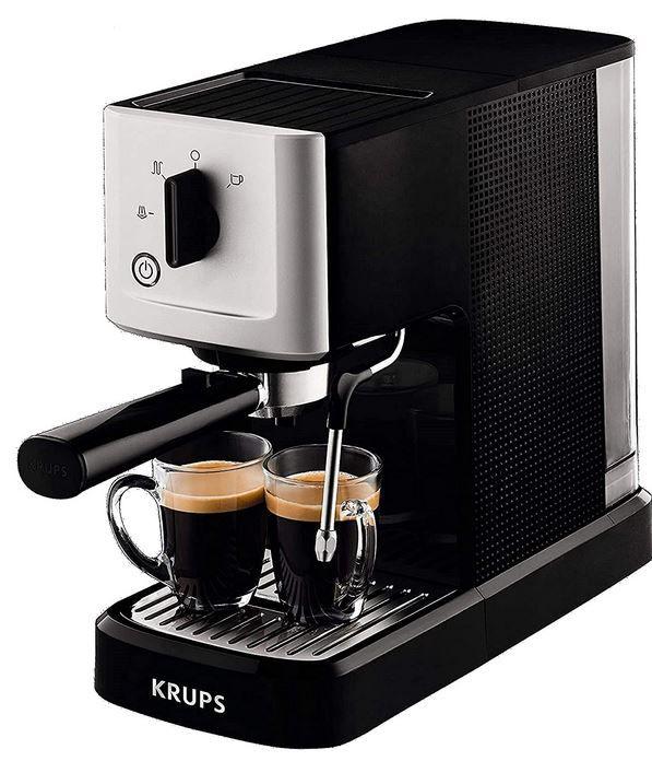 KRUPS XP3440 Siebträger Espressomaschine für 114,90€ (statt 130€)