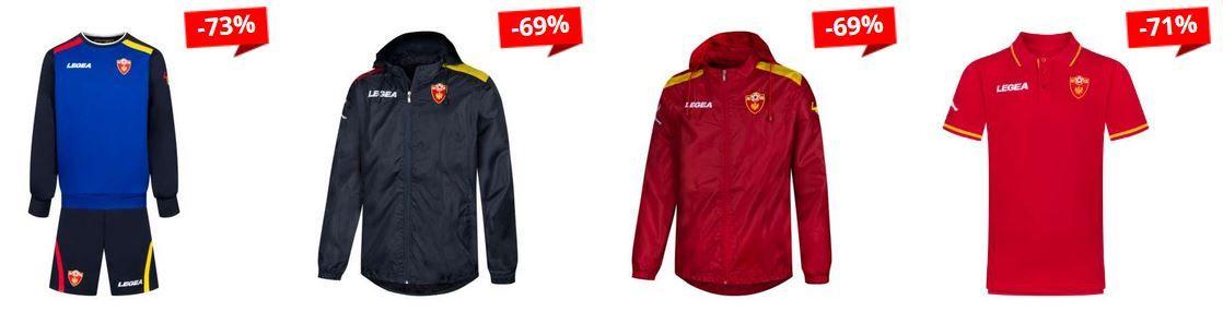 SportSpar kleiner Legea Montenegro Sale: z.B. Legea Montenegro Herren Hoody für 18,49€ (statt 30€)