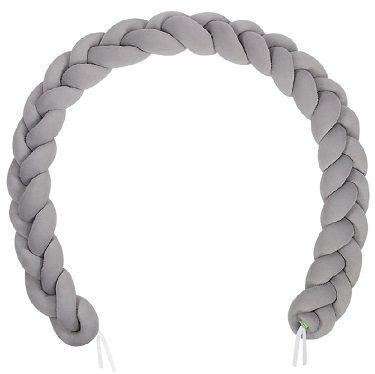 LULANDO Nestchenschlange im Zopfmuster (300 cm) für 41,99€ (statt 53€)