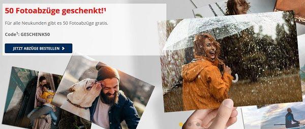 Medion Foto: Für Neukunden 50 Abzüge kostenlos + 3,45€ Versandkosten
