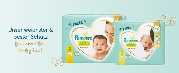 Pampers Premium Protection Windeln gratis ausprobieren