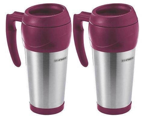 Doppelpack: Leifheit 25785 Isolierbecher Hot & Cool Colour Edition für 9,99€ (statt 30€)