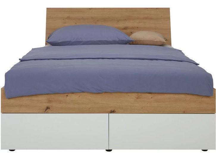 Mömax Stauraum Bett 120x200 für 286,68€ (statt 379€)