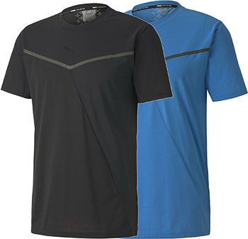 Puma T Shirt Train Thermo R+ BND Short Sleeve in Schwarz oder Blau für je 11,56€ (statt 20€)