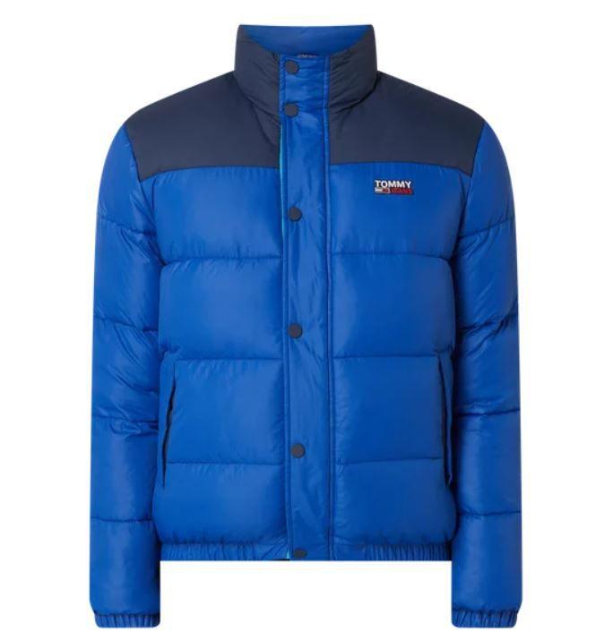 Tommy Jeans Herren Steppjacke mit Wattierung in Blau für 112,49€ (statt 204€)