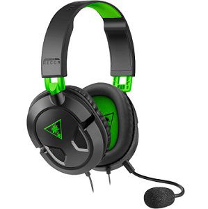 TURTLE BEACH Recon 50X Over-ear-Headset in Schwarz/Grün für 22,98€ (statt 28€)