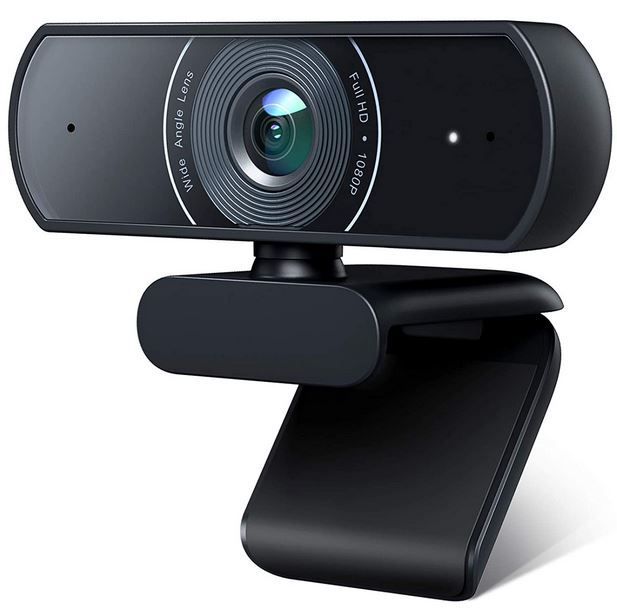 Victure 1080P USB Webcam mit Mikrofon für 19,99€ (statt 30€)