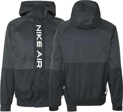 Nike Air Woven Jacke in Schwarz für 55,30€ (statt 100€)