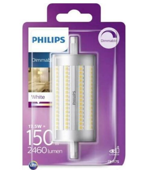 Philips LED R7S 17,5W (Halogenersatz 150W) für 9,99€ (statt 20€)