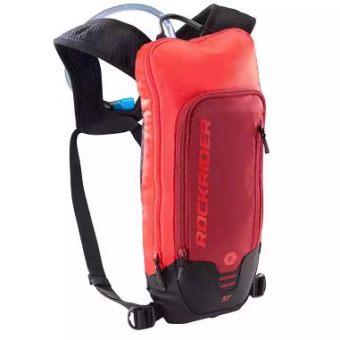 Rockrider Trinkrucksack MTB 500 3 Liter in Rot für 18,98€ (statt 24€)