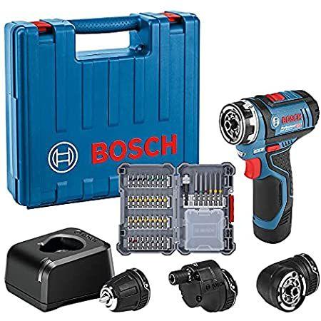 Bosch GSR 12V-15 FC Professional Akku-Bohrschrauber mit Koffer & Zubehör für 153,99€ (statt 220€)