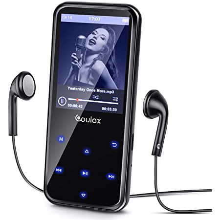 Coulax MP3 Player mit Radiofunktion, 16GB & 2.4 Zoll Display für 9,45€ (statt 27€) – Prime