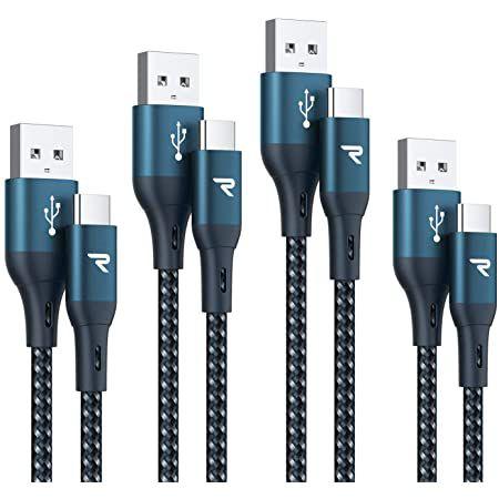 4er Pack: Rampow USB C Ladekabel (0.2, 1, 2 & 3m) für 4,99€   Prime