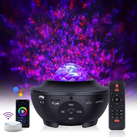 LED Sternenhimmel Projektor & Bluetooth Lautsprecher mit App Anbindung für 29,99€ (statt 50€)