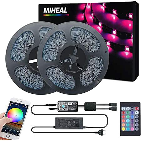 40% Rabatt auf Miwatt LED Streifen mit App-Steuerung z.B. mit 20, 30 oder 40m ab 27,59€ (statt 46€)