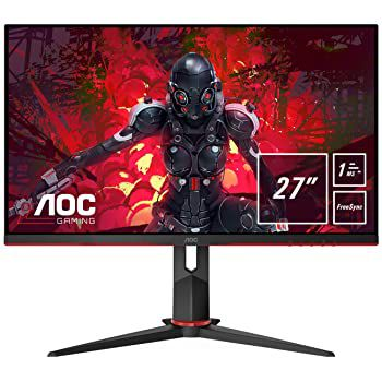 AOC 27G2U5 – 27 Zoll FHD Monitor mit 75 Hz, 1ms & FreeSync für 151,25€ (statt 179€)