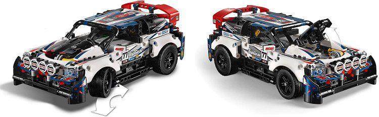 LEGO 42109 Top Gear Ralleyauto mit App Steuerung für 84,99€ (statt 94€)
